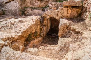 Image of Herods Tombs. archaeology israel jerusalem jerusalemdistrict