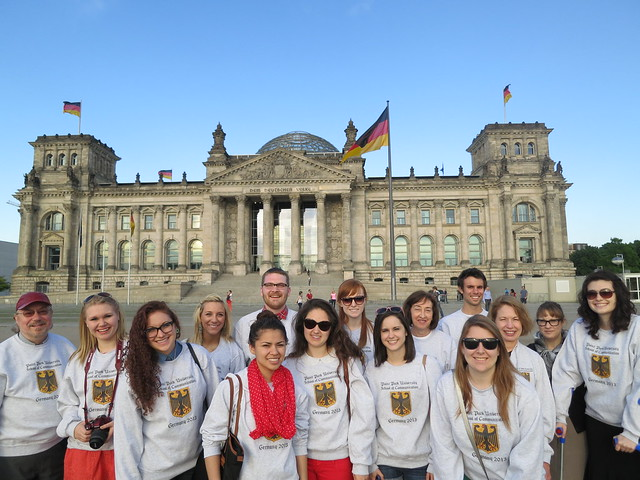 International Media Class Visits Germany