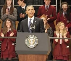 President Obama speech, Belfast June 2013