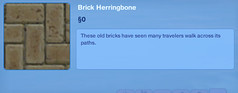 Brick Herringbone