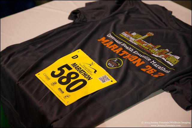 Knoxville Marathon '13
