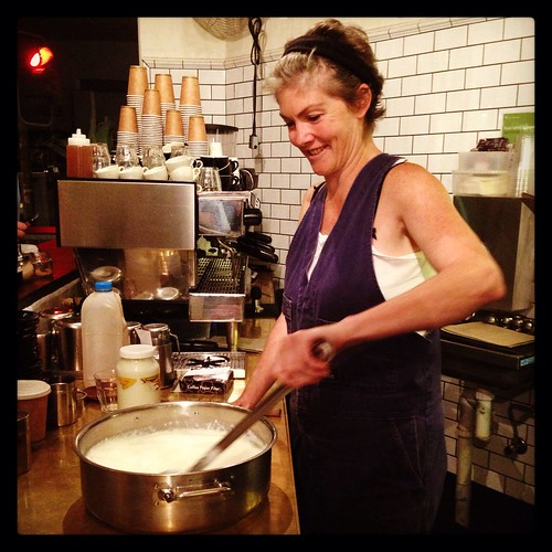 Kristen Allan, cheesemaker