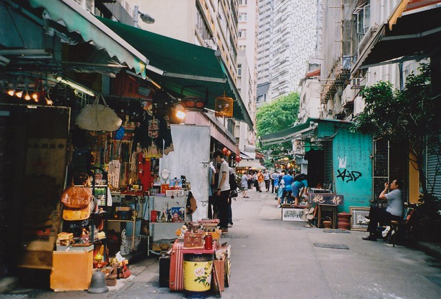 Market in Hong Kong - Flickr CC -ocean