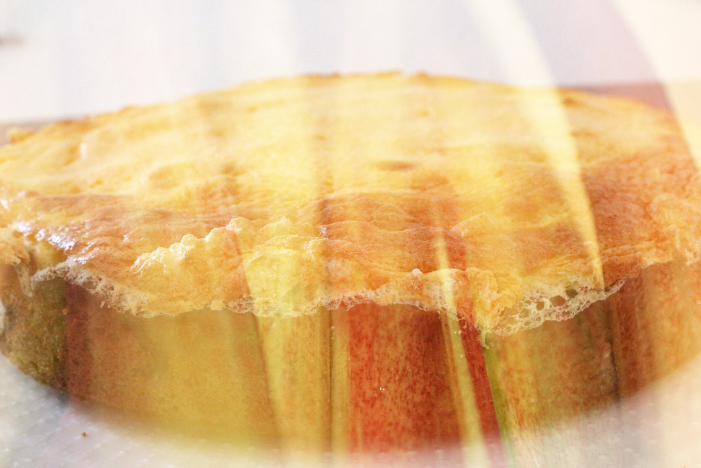 Rharbarbarkuchen