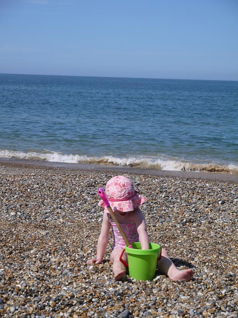 Cley next the Sea shingle beach
