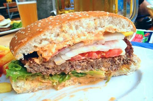 Brauhaus Burger - Querschnitt / Lateral cut