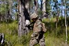 A US marine carries his rifle by ABC News