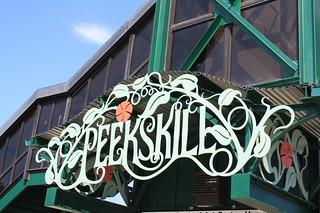 Peekskill Train Sign
