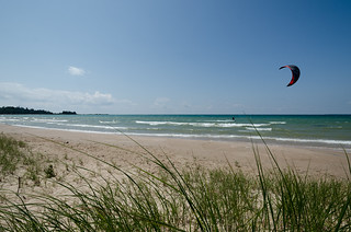 July 9 - Kite-surfers and Sailboarders