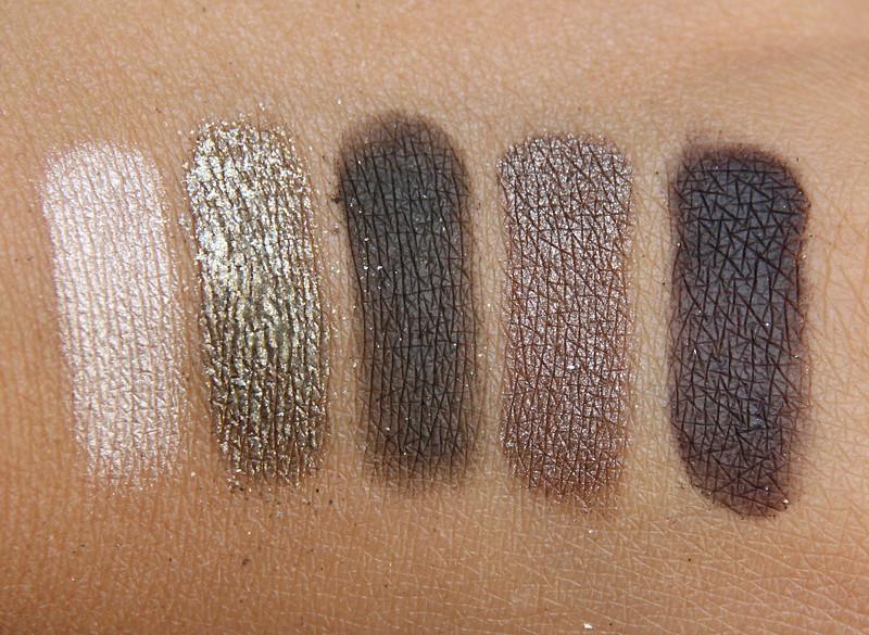 IsaDora highlands eye shadow palette swatch