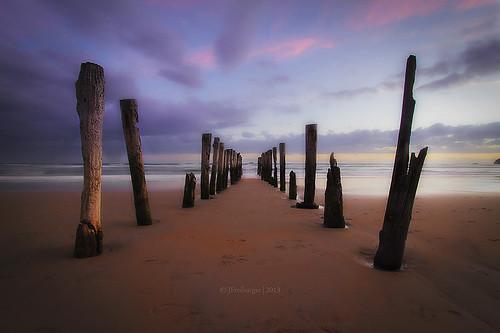 travel sunset sea newzealand canon landscape jetty 7d dunedin 1022 waterscape