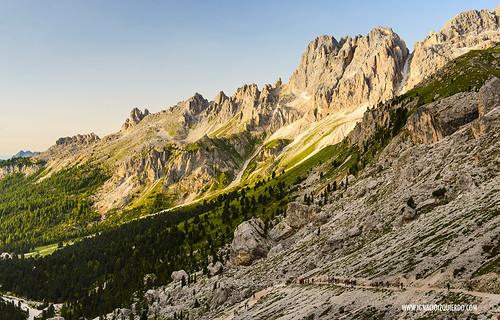 Dolomites - Val di Fassa - Vinicio Capossela at Vajolet 06