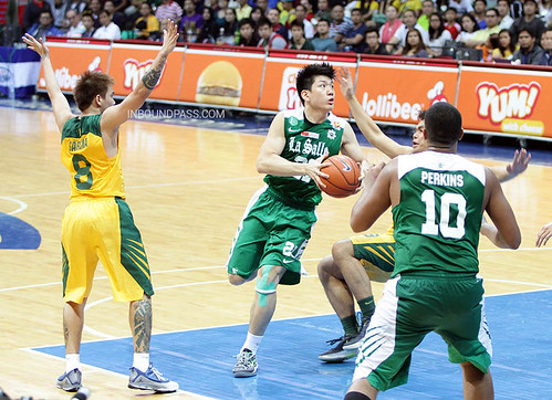UAAP Season 76: De La Salle Green Archers vs. FEU Tamaraws, Aug 18