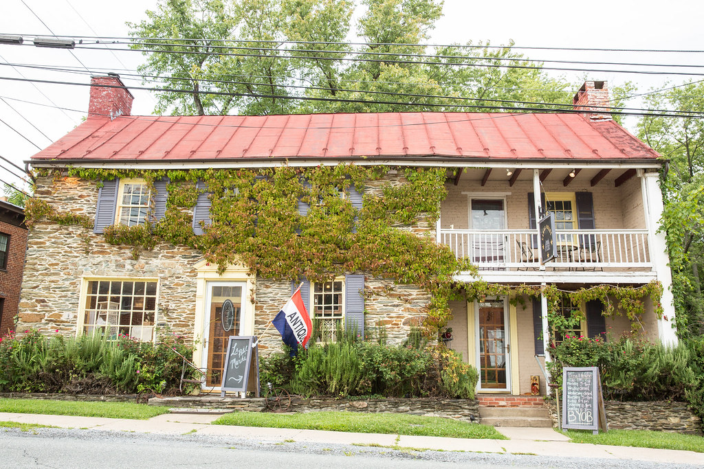 Canal House Cafe in Harpers Ferry West Virginia