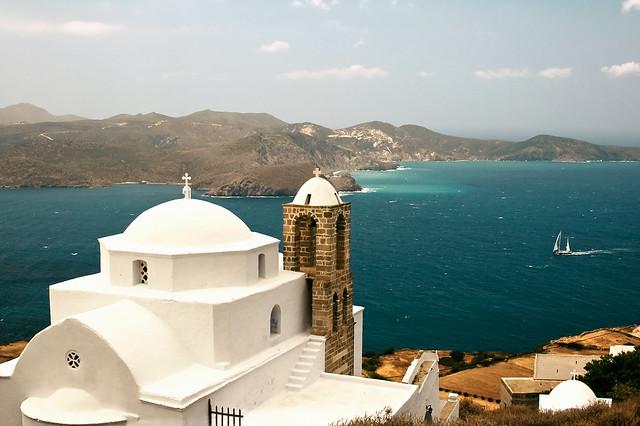 "Milos - The Church of Panagia Thalassitra ""on explore"""