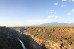 Rio Grande gorge, near Taos, NM