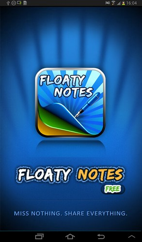 Floaty Notes Free Screenshot