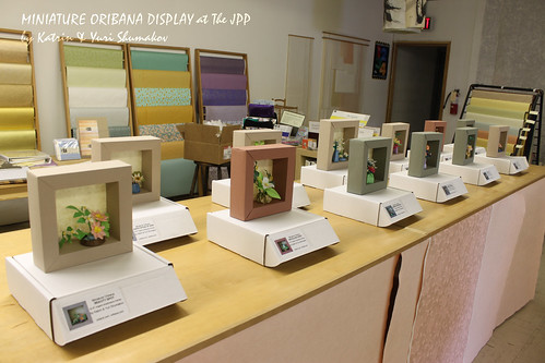 Oribana Display on Washi Wednesday at the JPP