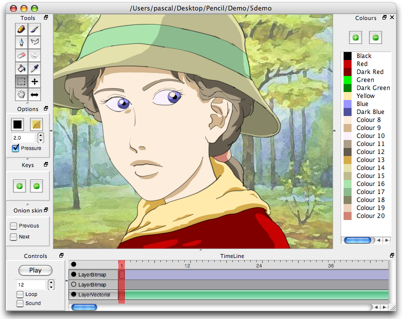 Best free 2d animation softwares and cartoon creator Drawing programs for windows