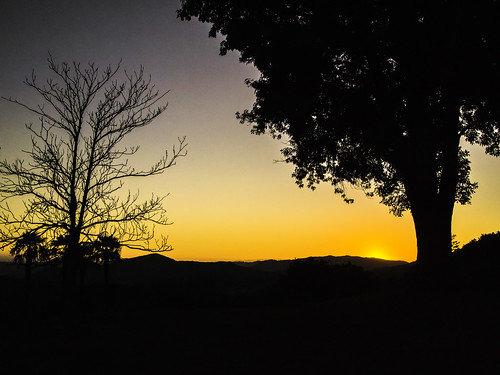 california ranch trees sunset silhouette raw hills serene toned pala condorsnest epicshots