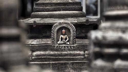 nepal buddha buddhism kathmandu spirituality swayambhu buddhastatute