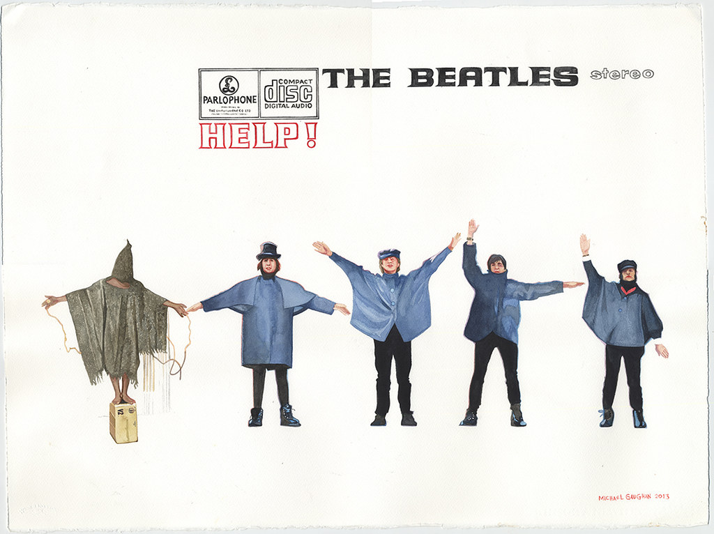 Beatles HELP gaughan painting flattened_o