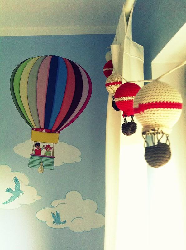 girlanda balonikowa