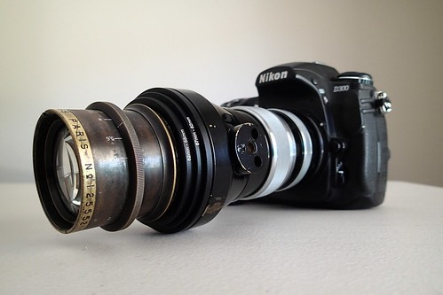 Krauss Tessar 180mm on Nikon D300 nº 2