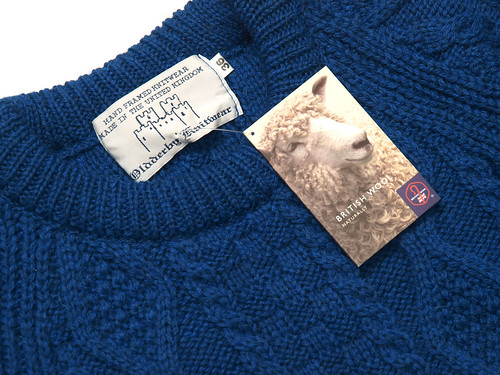 Oldderby Knitwear / Aran Knit Sweater