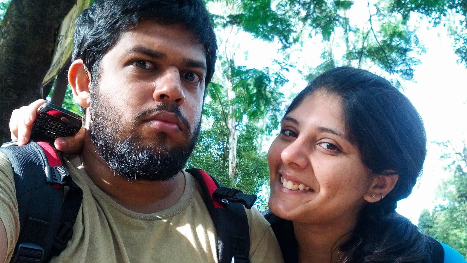 Lovell & Priya at Bamnoli