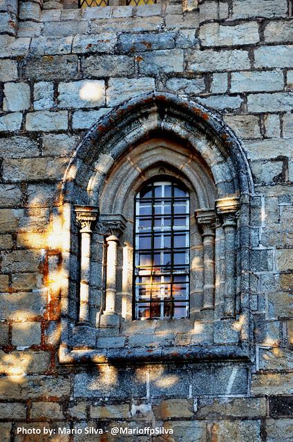 Ventana Catedral Évora - Patrimonio de la Humanidad