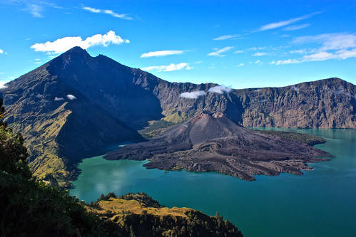 the reward. Rinjani!