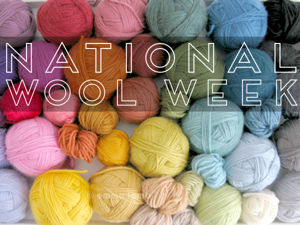 National Wool Week | Emma Lamb