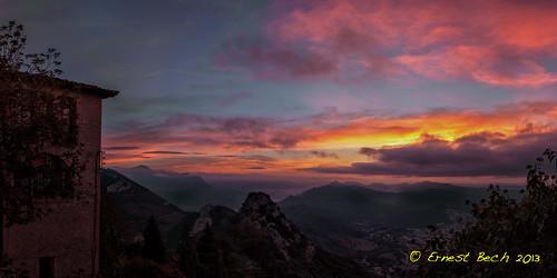 longexposure sky mountain clouds sunrise canon landscape lights cel nubes catalunya llums nuvols berga núvols queralt tamron2875f28 berguedà santuari sortidadesol montanyes 60d llargaexposició