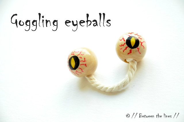 Halloween DIY :: googling eyeballs