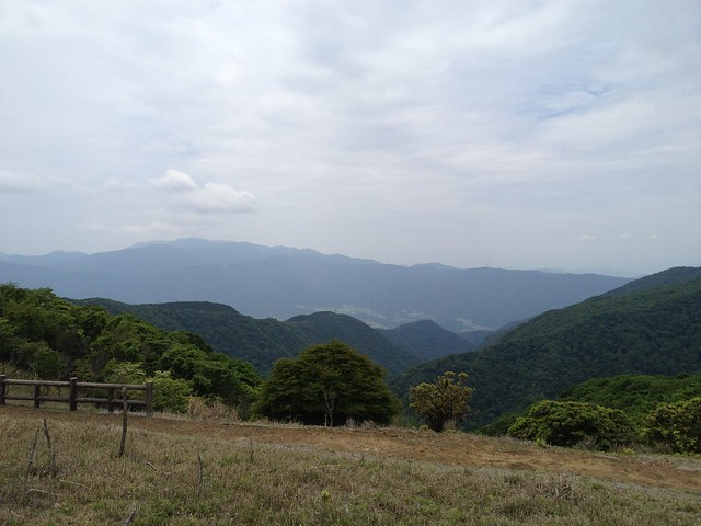 養老山 小倉山からの展望