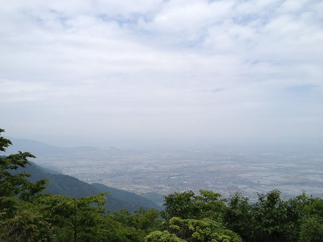 三方山 山頂からの展望