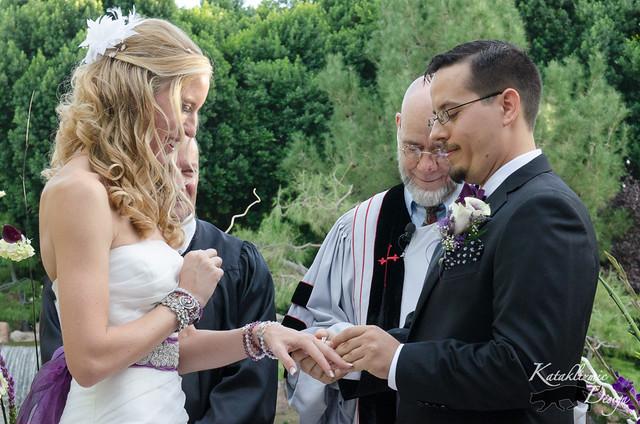 Hutman Wedding Ceremony - Japanese Friendship Garden 10-26-13 (Silver Package)
