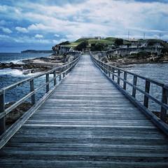 Wooden Bridge at Bare Island
