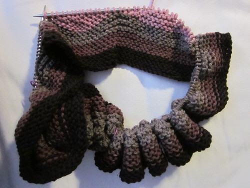 Undulation Scarf by Pointe Shoes Punk Rock And Purl Pix