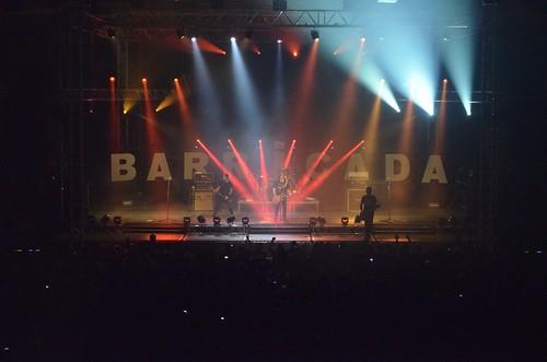 Barricada 16-11-2013
