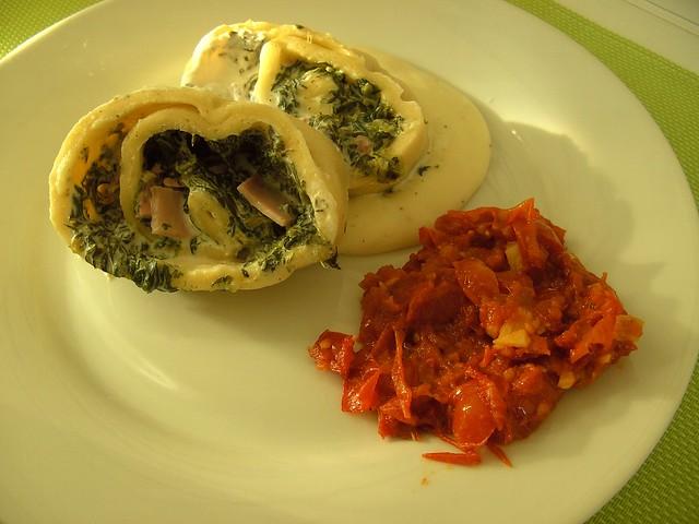 Pasta Roulade 1