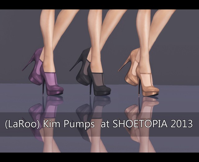 (LaRoo) Kim Pumps at SHOETOPIA 2013