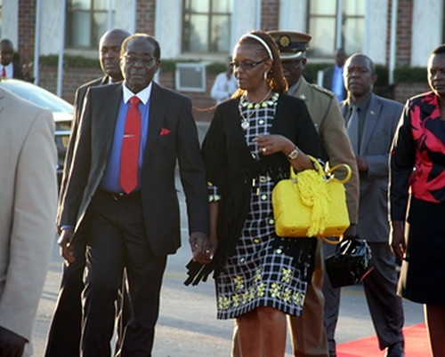 Pan African News Wire Zimbabwe President In South Africa