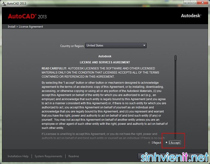 Hướng dẫn cài đặt và crack autocad 2013