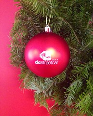 Happy Holidays: Streetcar Ornament