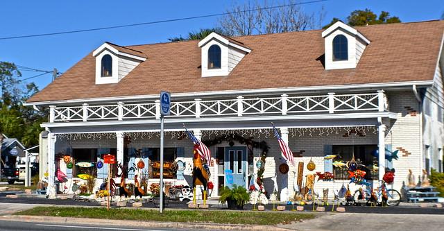 Citrus Avenue, Heritage Village, Crystal River, Florida