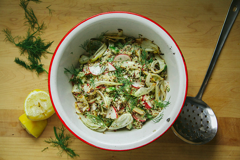 Fennel Halfway to Dinner from Food52