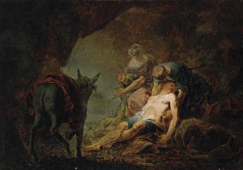Johannes Zick - Der barmherzige Samariter (c.1753)