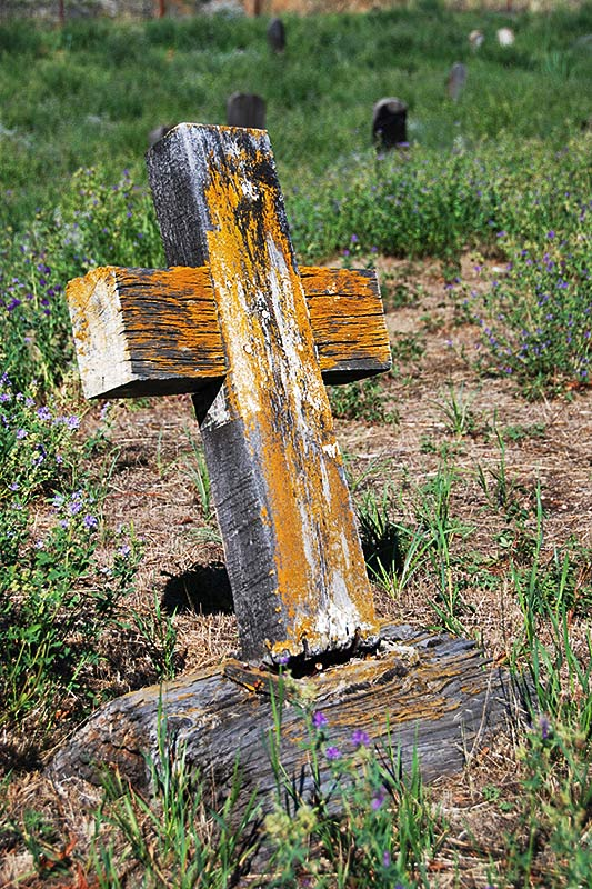 Pioneer Cemetery in Lytton, Gold Country, Thompson Nicola, British Columbia